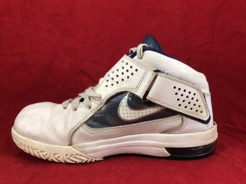 wholesale dealer 9c11c 5feb0 Womens NIKE LEBRON SOLDIER V 5 White Navy Blue Shoes 454149-104 SIZE 7 (