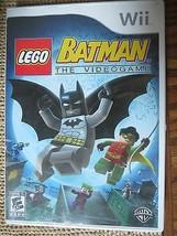 LEGO Batman: The Videogame  (Wii, 2008) - $4.00
