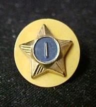 Vintage Cub Eagle Boy Scout Webelo Gold Blue Star 1 Achievement Pin Coll... - $12.71