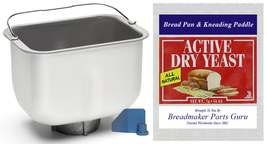 Bread Pan Fits Breadman Model TR4000 Ultimate Dream Machine Breadmaker Pail New! - $29.49