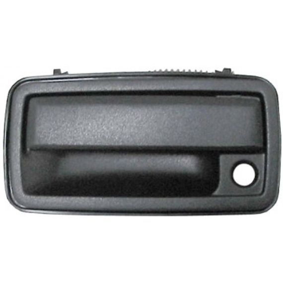 Fits 98-02 Corolla Prism Right Pass Front Exterior Door Handle Smooth Black