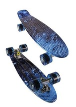 """MoBoard Vintage Style Classic 27"""" Skateboard, Blue - $54.52"""
