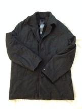 TOMMY HILFIGER WOOL DARK GRAY WONDERFUL COAT-JACKET  -LARGE - $100.90