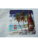 New Banks Beer Coaster The Beer of Barbados Beer mat Caribbean Lager - $2.38