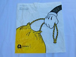 Walt Disney World Resort Guest Plastic Printed Laundry Bag 31641 Mickey Mouse - $18.80