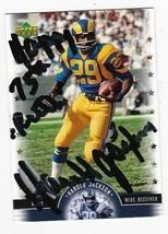 HAROLD JACKSON AUTOGRAPHED CARD 2005 UPPER DECK LEGENDS LOS ANGELES RAMS... - $3.58