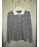 Nice Ralph Lauren Polo Jeans Co Striped Long Sleeved Ladies Pullover-Size L - $13.95