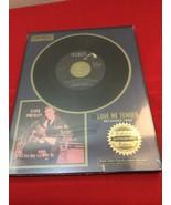RIAA Certified Platinum Record, ELVIS PRESLEY, LOVE ME TENDER, Released ... - $30.00