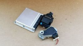 03-05 Mercedes Benz E320 C320 C32 ECU EIS Engine Computer Key Set A1121536679 image 7