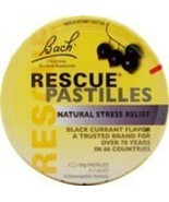 Bach Rescue Remedy Pastilles Black Currant Display (12x50 GM) - $119.00