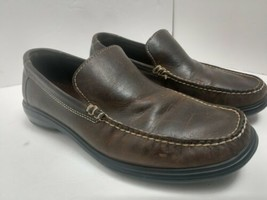 Cole Haan Men's Brown Leather Loafers Slip On Shoes Size: 8.5 Medium  C0... - $19.24