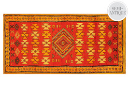 "$3600 One Kings Lane  Apadana Moroccan Gallery Rug, Orange  4'8""x9'10"" - $1,286.99"
