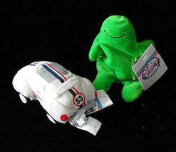 Mini Bean Bag Figure Lot Herbie The Love Bug VW Bug Car Flubber - $16.99