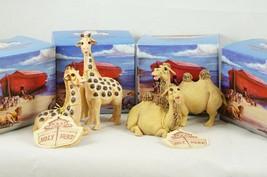4 Pete Apsit Holy Herd NOAH'S ARK Courage Caboose Camel Genevieve Gerard... - $52.73