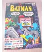 Batman No 183 Superhero 12c Comic Book Aug 1966 2nd Appearance Poison Ivy - $8.99