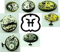 FHF Pre Owened Used Antique Vintage Watch Movement For Parts, Repair Ver... - $4.99+