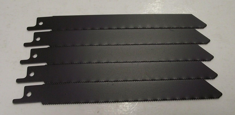 "Vermont American 90-30110 6"" x 18 TPI HSS Recip Blades 5pcs. Swiss - $3.22"