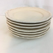 Pier 1 Lacey Portugal Handpainted Earthenware Set of 7 Salad Plates (7) - $28.71