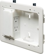 Arlington TVL508-1 Low Profile TV Box for Shallow Walls, 8-inch x 5-inch... - $22.88
