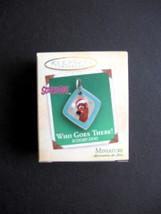 2004 Miniature Hallmark Keepsake Ornament - Who Goes There! Scooby-Doo - Pewter - $10.00