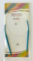 "Knitters Pride Dreamz Circular Knitting Needles Size 6 (4 mm) 24"" (60 cm) NIP - $9.74"