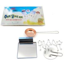 Squid Game Dangona Making Kit Set Gold Sugar Crush Making Set 오징어게임 달고나 만들기 - $22.46