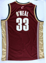 Shaquille O'Neal #33 Cleveland Cavaliers adidas Jersey Red Shaq Size 52 - $49.99