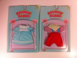 Lot of 2 Galoob Bouncin' Babies Outfits Red Spe... - $14.84