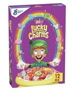 Lucky Charms Fruity Sweetened Corn Cereal with Marshmallows 12 oz Genera... - $5.99