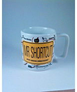 American Greetings novelty Mr. Shortcut stoneware coffee tea mug NMG 727 G - $9.45