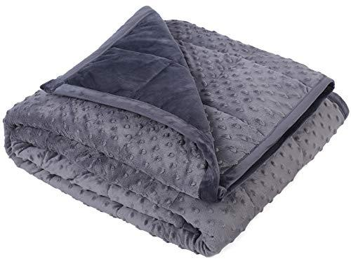 Kpblis Weighted Blanket 15 Lbs 48 Quot X 72 Quot For 130 170 Lbs