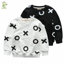 Long sleeve Sweatshirt printing XOXO boys girls shirts children tops chi... - $27.56 CAD+