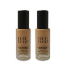 Bobbi Brown Skin Long-Wear Weightless Foundation- Natural Tan 4.25 - LOT OF 2 - $102.18