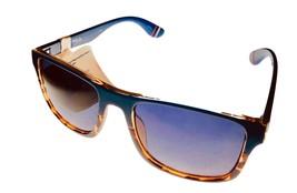 Fila Mens Rectangle Blue Tortoise Sunglass , Smoke Gradient Lens SF9283.... - $17.99
