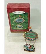 2000 Merry Ballooning Hallmark Christmas Tree Ornament MIB Price Tag Q3 - $18.32