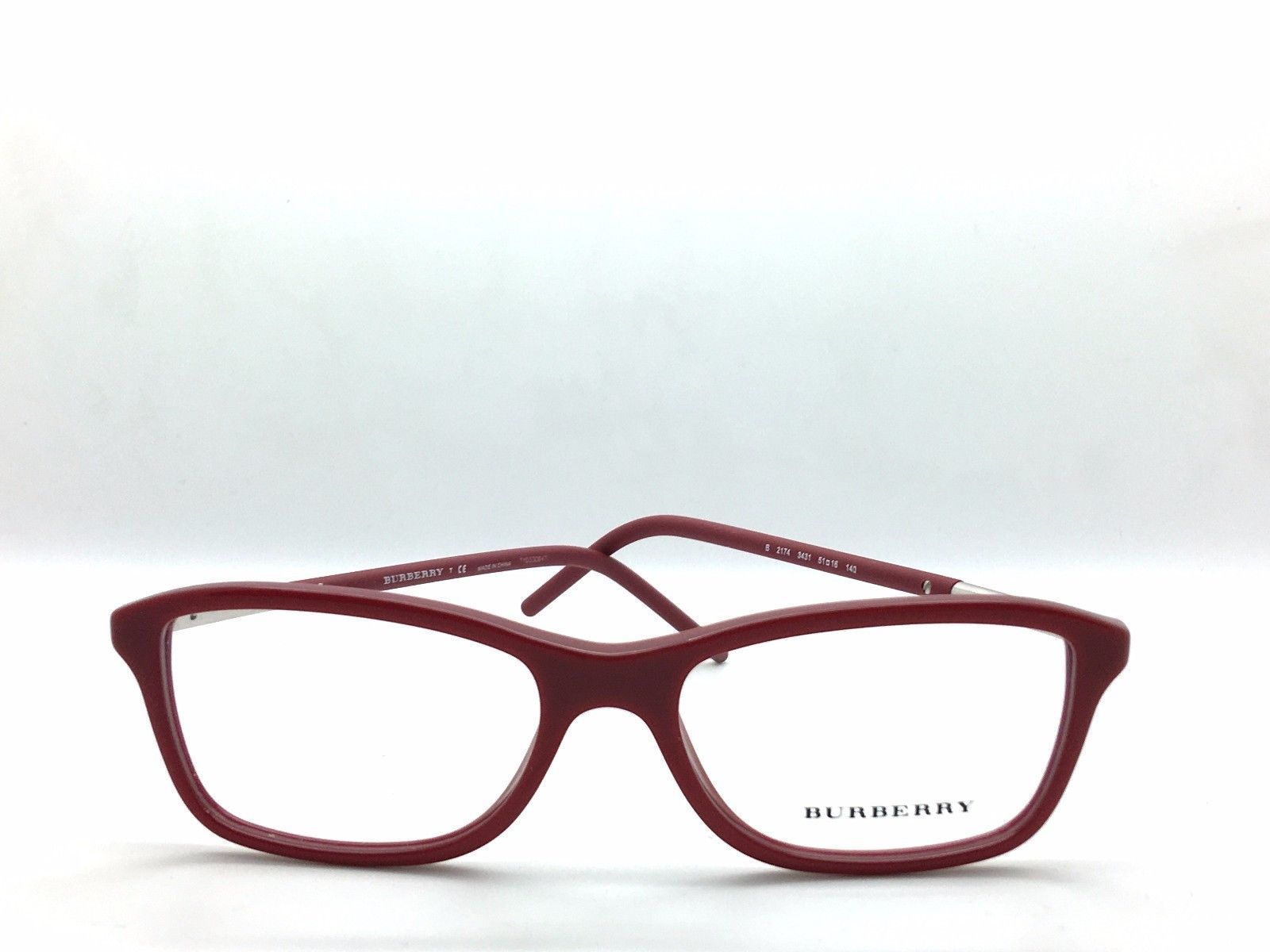 8a8a420532 B 2174 3431 New Authentic BURBERRY EYEGLASSES FRAME 51-16-140