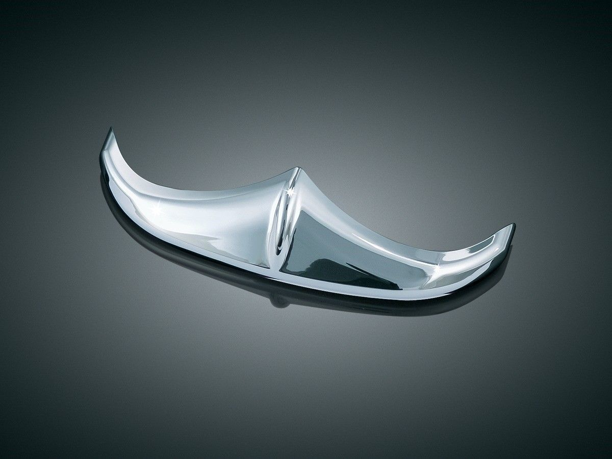 New Kuryakyn Chrome Fender Trail Edge Accent 8643 FLH FLT