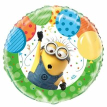 "Despicable Me Minions Birthday Party 18"" Foil Mylar Balloon 1 ct - $4.19"