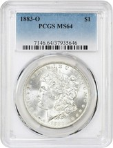 1883-O $1 PCGS MS64 - Morgan Silver Dollar - $82.45
