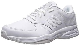 Balance Men's 500V1 Leather Training Shoe, White, 7 4E US - €48,45 EUR