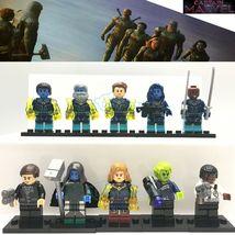 10Pcs/Lot Captain Marvel Star Force Ronan Nick Fury Skrull Custom Minifigures - $19.99