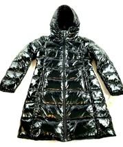 new MICHAEL KORS women jacket parka down fill hooded M824363T47 black S ... - $94.04