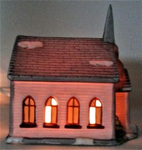 SANTA'S BEST Church Christmas Village - $20.00