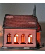 SANTA'S BEST Church Christmas Village - $20.00