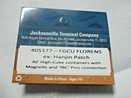 Jacksonville Terminal Company # 405177 FGCU FLORENS 40' High-Cube Container (N) image 4