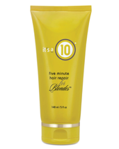 Its A 10 Miracle Five Minute Hair Repair for Blondes, 5oz