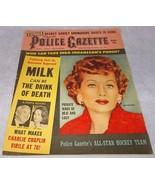 National Police Gazette Tabloid Magazine Marc 1960 Lucille Ball Charlie ... - $19.95