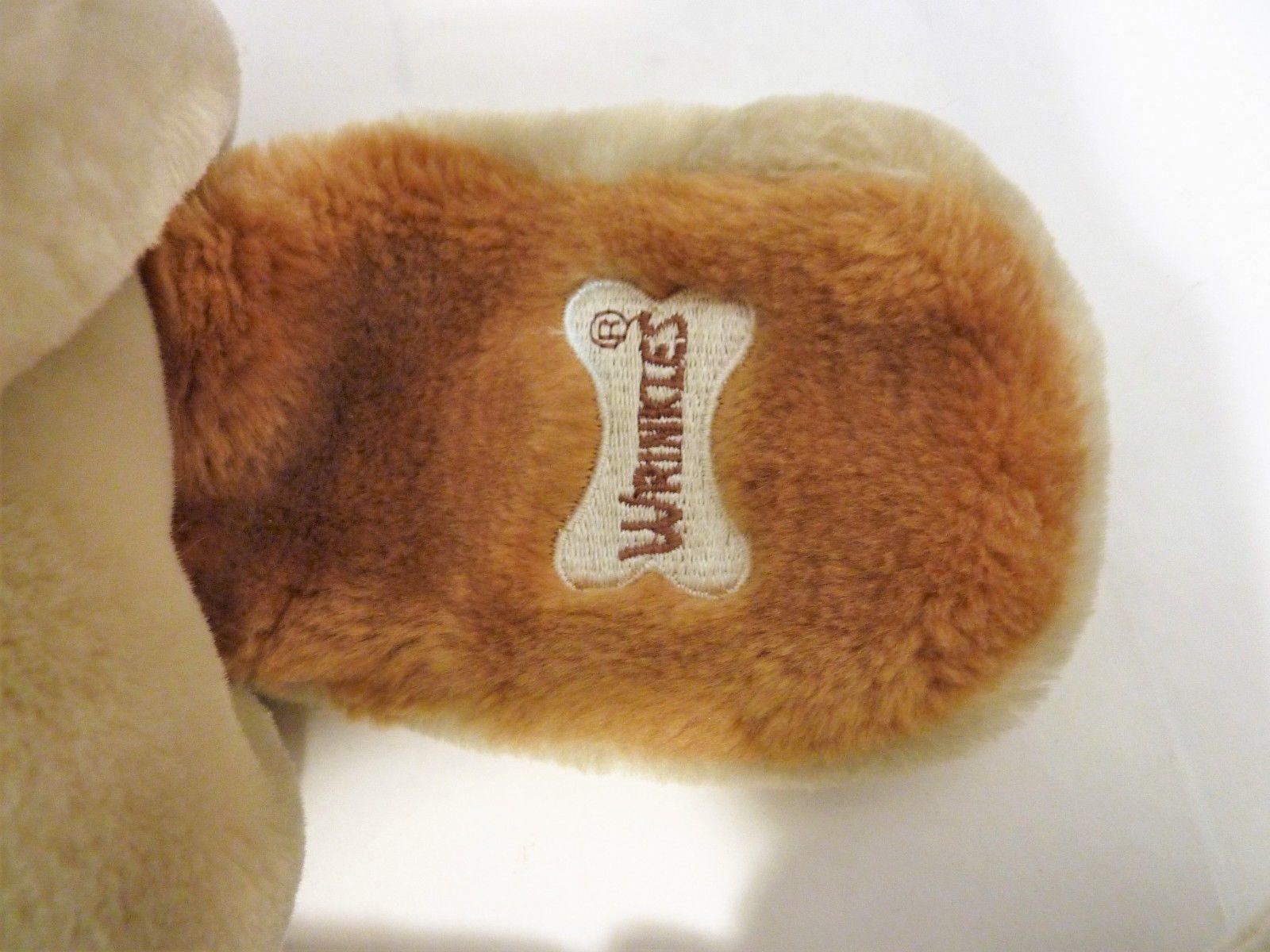 Vintage Ganz Bros. Wrinkles Plush Puppet Dog 7285457 with Lion Puppet