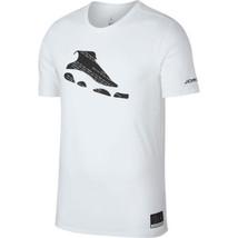 Air Jordan JSW He Got Game Men's T-Shirt White-Black AR1273-100 - $28.00