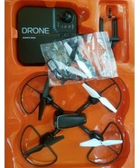 Toy Drone and Remote Control FOR PARTS ONLY Sharper Image Streaming Edition - $28.83